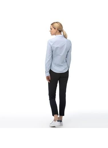 Lacoste Kadın Slim Fit Pantolon HF2044.44L Lacivert